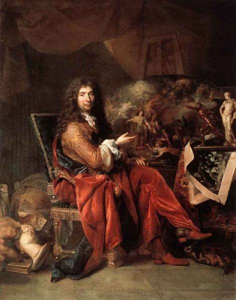 Portrait Of Charles Le Brun